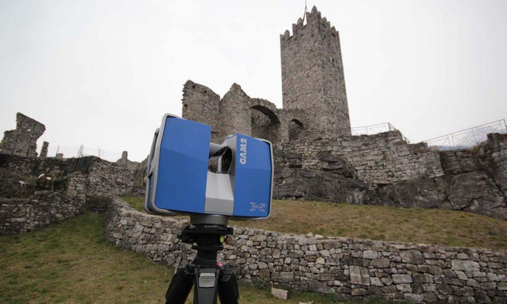 Castello di breno bs reverse geomatics for Planimetrie del faro